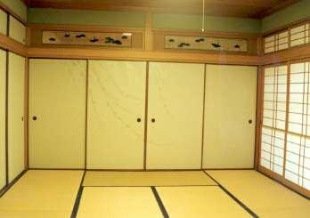 坂東邸の部屋 和室10帖