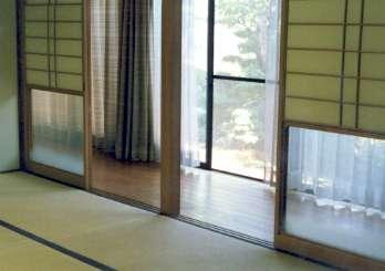 坂東邸の部屋 和室10帖-広縁