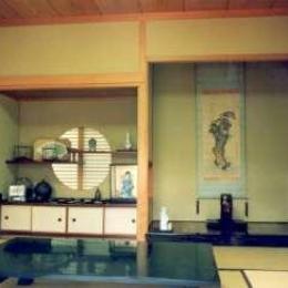 坂東邸 (和室8帖-床の間)