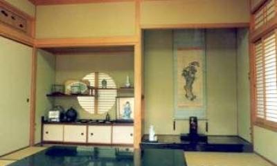 和室8帖-床の間|坂東邸