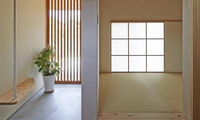 玄関|ホソナガハウス