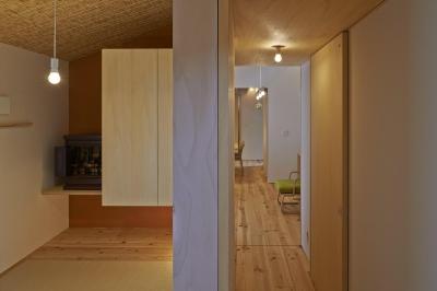 和室、廊下 (ホソナガハウス)