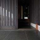 玄関入口-床部分