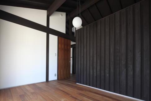 木更津の家 (1階ベッドルーム)