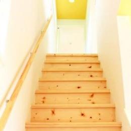 中庭を囲む家 (階段)