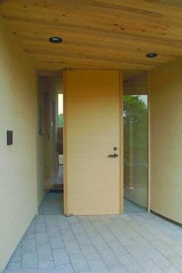稲荷木の家 (光をとりこむ玄関)