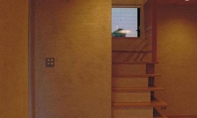階段|稲荷木の家