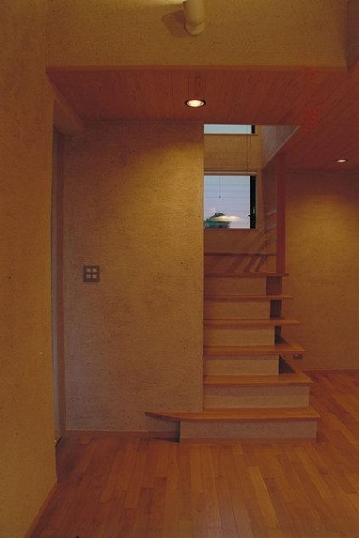 稲荷木の家 (階段)