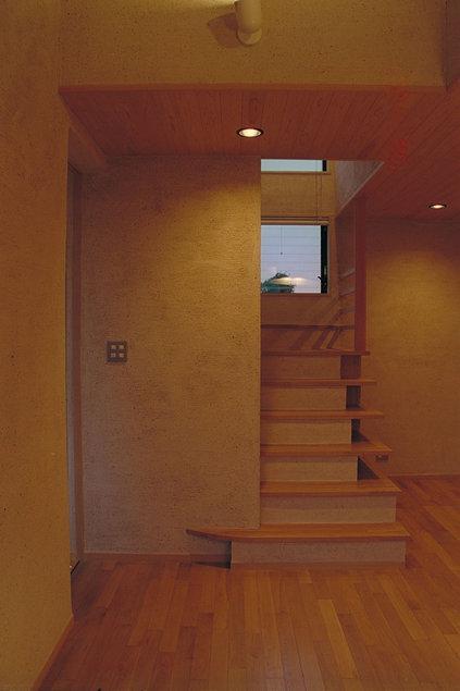 稲荷木の家の写真 階段