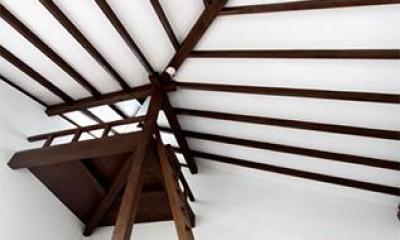 物見台スペース|大屋根の家