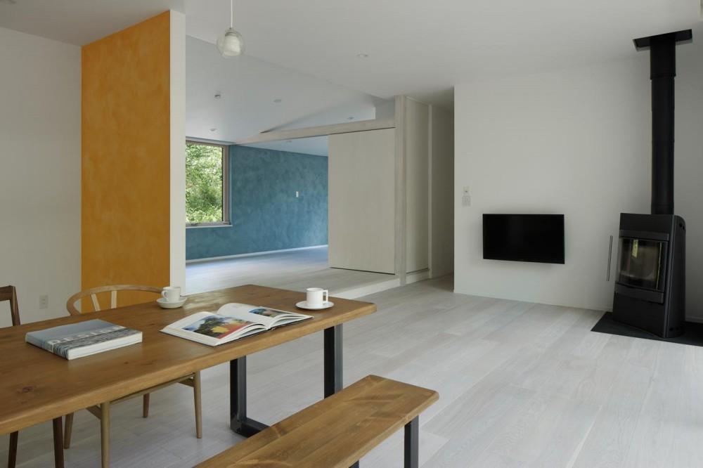 036軽井沢Kさんの家 (リビング)