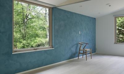 036軽井沢Kさんの家 (寝室)