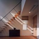 リビング入口と階段