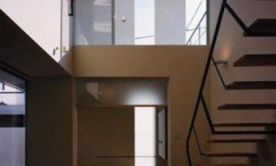 1階和室と2階ベランダ|Takada-Cho BOX