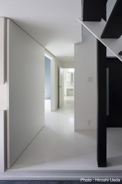 1階 (ハコノオウチ06・屋上バルコニーのある家)