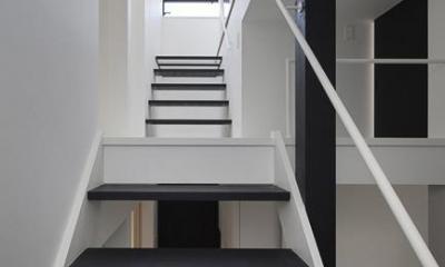ハコノオウチ06・屋上バルコニーのある家 (階段)