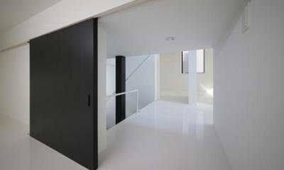 ハコノオウチ06・屋上バルコニーのある家 (床下納戸)