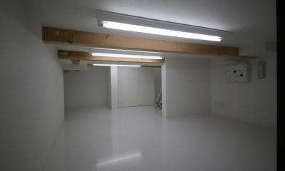 床下収納|ハコノオウチ06・屋上バルコニーのある家