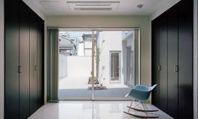 N邸 (庭に面した個室)