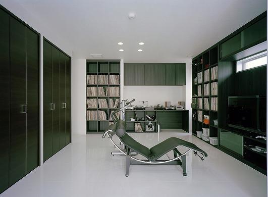 N邸の部屋 趣味室