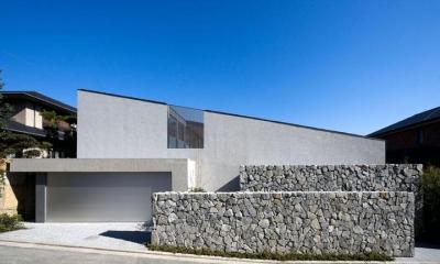 壁層の家 (外観)
