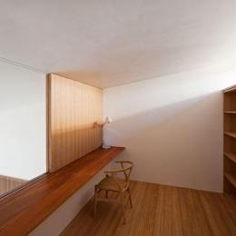 壁層の家 (2階ワークスペース)