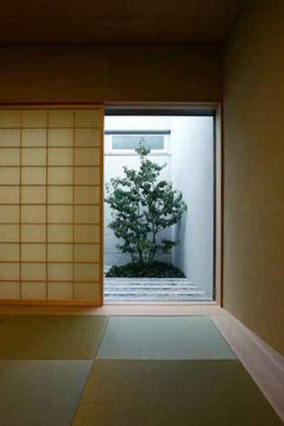 和室 (壁層の家)