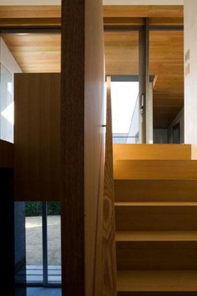 階段 (壁層の家)