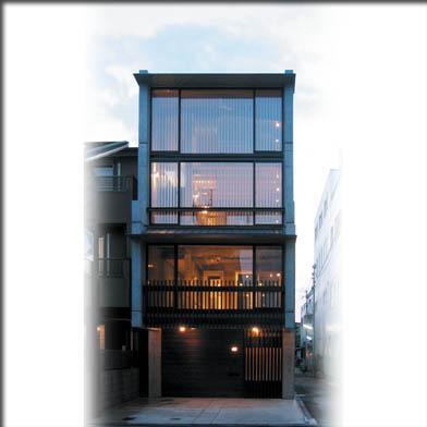 乾御門の見える家の部屋 外観