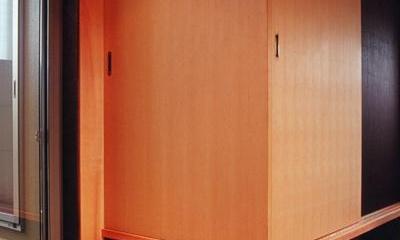 和室-closed|田園に建つ町屋