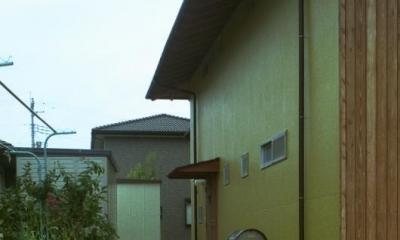 自邸(山方の住宅) (玄関アプローチ)