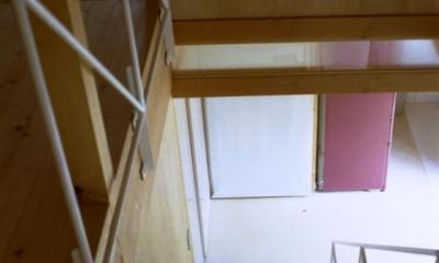 自邸(山方の住宅) (階段)