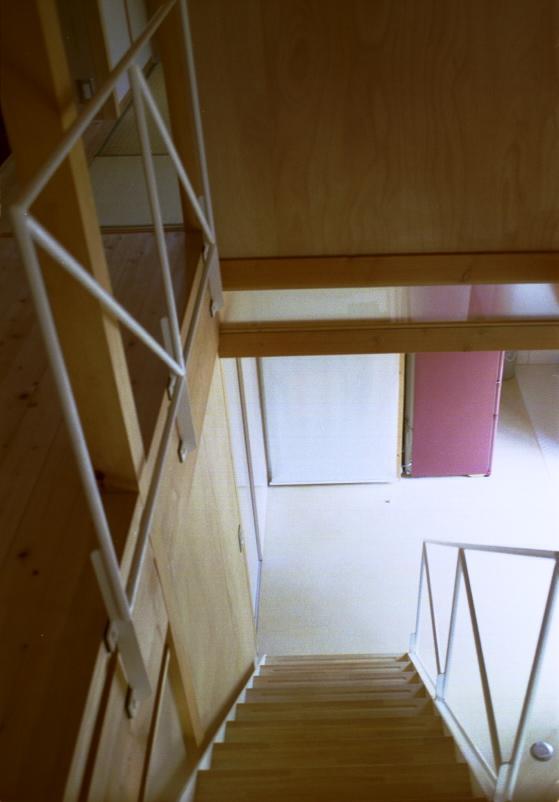 自邸(山方の住宅)の部屋 階段