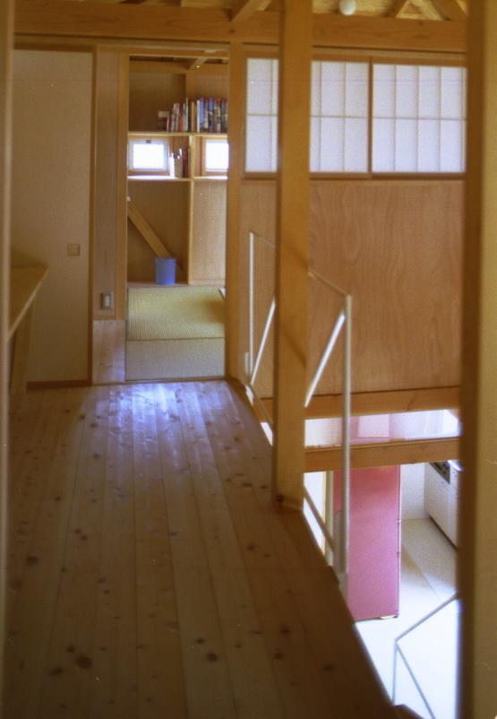 自邸(山方の住宅)の部屋 2階廊下1