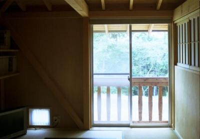 自邸(山方の住宅) (寝室1)