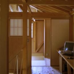 自邸(山方の住宅) (2階廊下2)