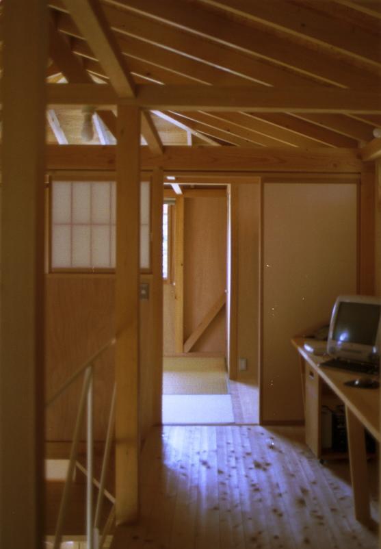 自邸(山方の住宅)の部屋 2階廊下2