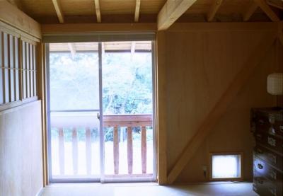 寝室2 (自邸(山方の住宅))