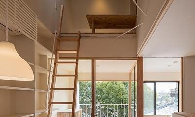 広間・インナーテラス|高台寺の家