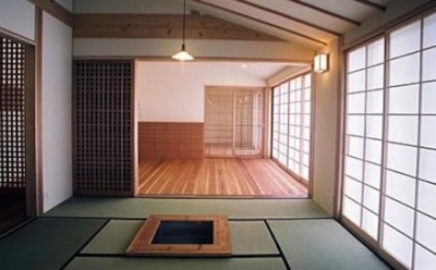 宮崎の家 (和室・リビング)