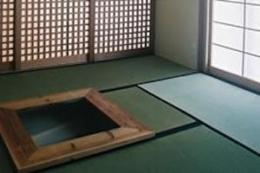 宮崎の家 (和室の火鉢)