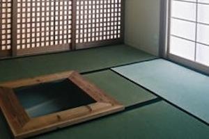 宮崎の家の写真 和室の火鉢