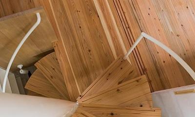 高台寺の家 (螺旋階段①)