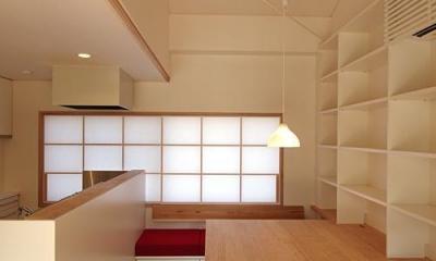 高台寺の家 (ダイニングスペース)