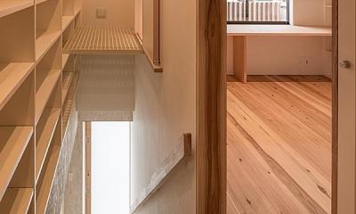 2階玄関|高台寺の家