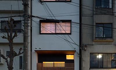 高台寺の家 (夜景)