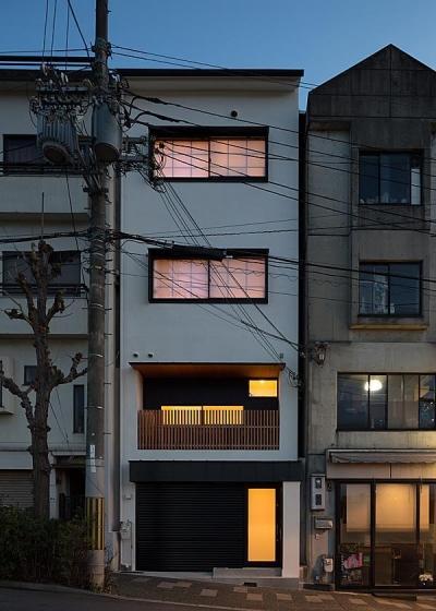 夜景 (高台寺の家)