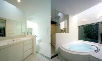 ホテルライクなバスルーム|S邸
