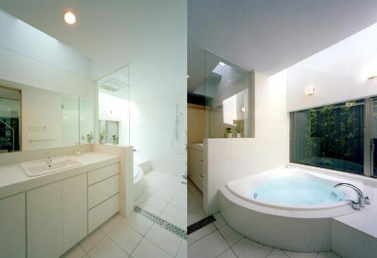 S邸の部屋 ホテルライクなバスルーム