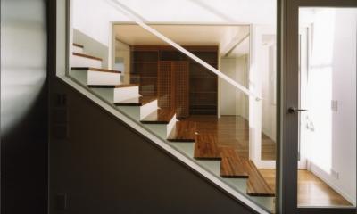 渋谷3丁目の住宅 (階段)